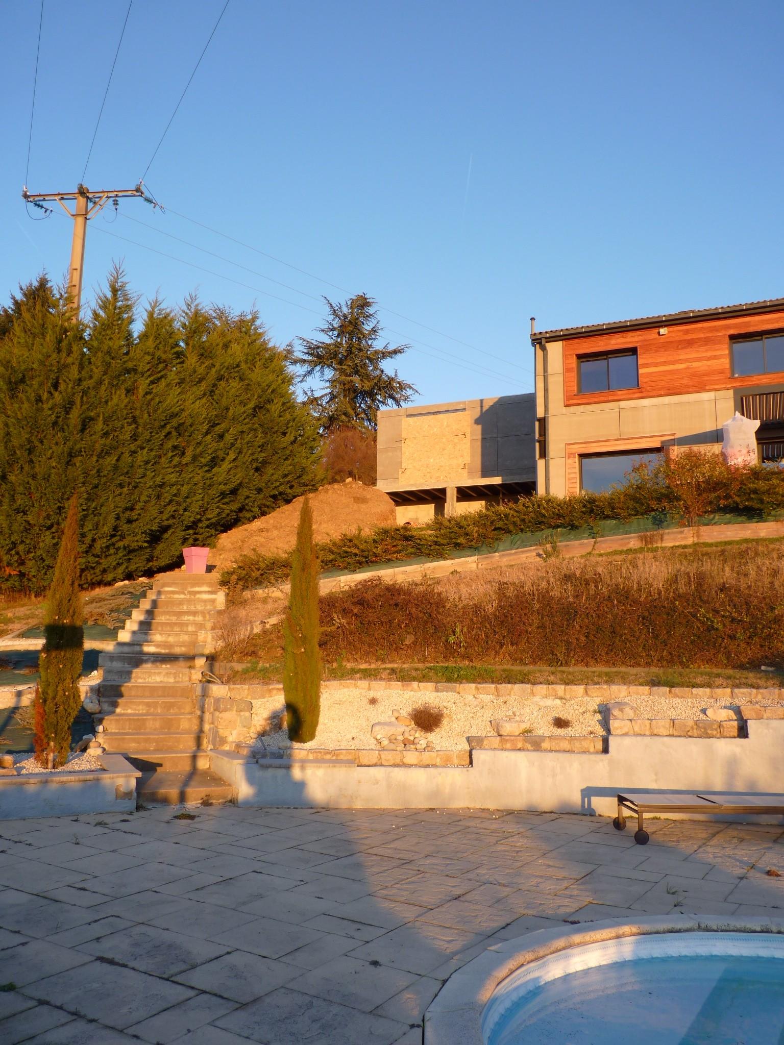 Construction extension de maison lyon am nagement de combles for Extension travaux